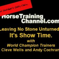 Leaving No Stone Unturned with World Champion Horse Trainers, Cleve Wells & Andy Cochran