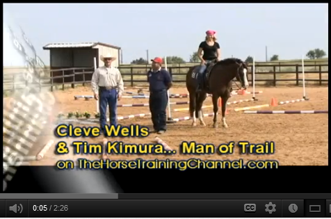 Tim Kimura, Man of Trail: On TheHorseTraining Channel.com with Cleve Wells