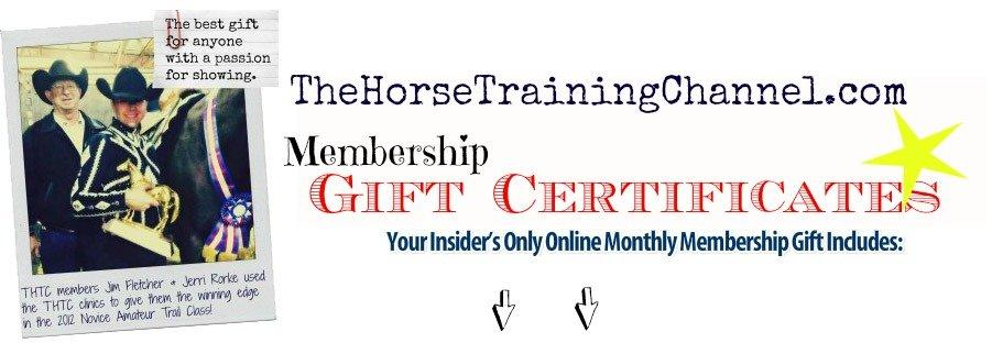 Give Membership Gift Certificates!
