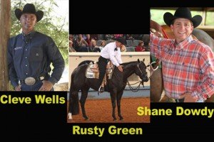 World Champion Western Pleasure Trainers Cleve Wells, Rusty Green & Shane Dowdy